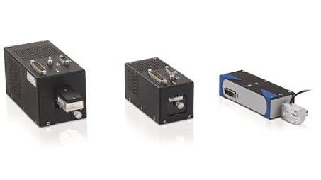 Three variants of the compact PIMag® Voice Coil linear drives