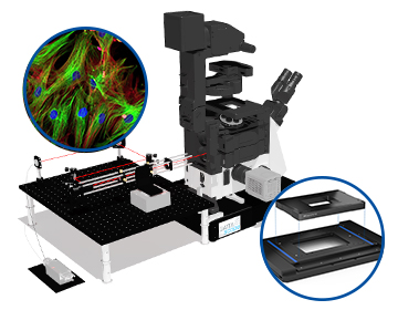 Example of a TIRF microscope: The GATTAscope from GATTAquant